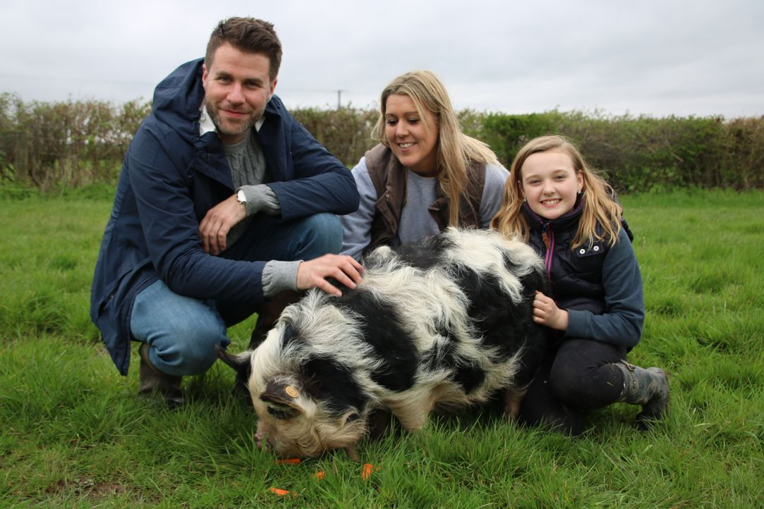 Agility-Training für Schweine - Bildquelle: True North