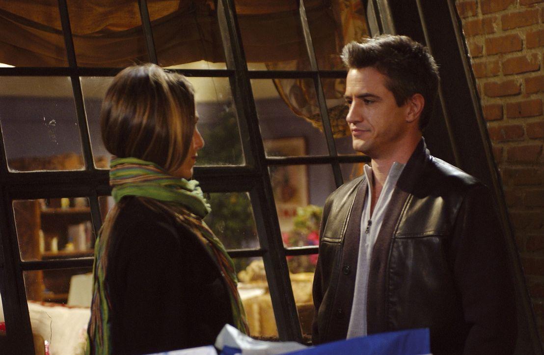 Ist Gavin (Dermot Mulroney, r.) in Rachel (Jennifer Aniston, l.) verliebt? - Bildquelle: TM+  2000 WARNER BROS.
