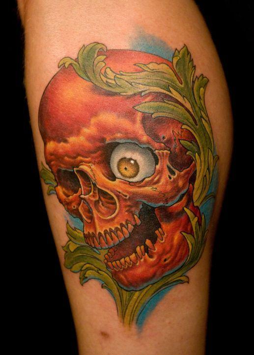 Wie wird das Tattoo, das Shane O'Neill vollkommen nach seinen Vorstellungen gestalten konnte, bei der Jury ankommen? - Bildquelle: Fernando Leon Spike TV