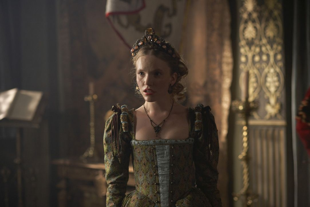 Als die Höflinge anfangen, ihrem eigenen Verlangen gegenüber Königin Catherine (Tamzin Merchant) freien Lauf zu lassen, zerfrisst Henry die Eifer... - Bildquelle: 2010 TM Productions Limited/PA Tudors Inc. An Ireland-Canada Co-Production. All Rights Reserved.