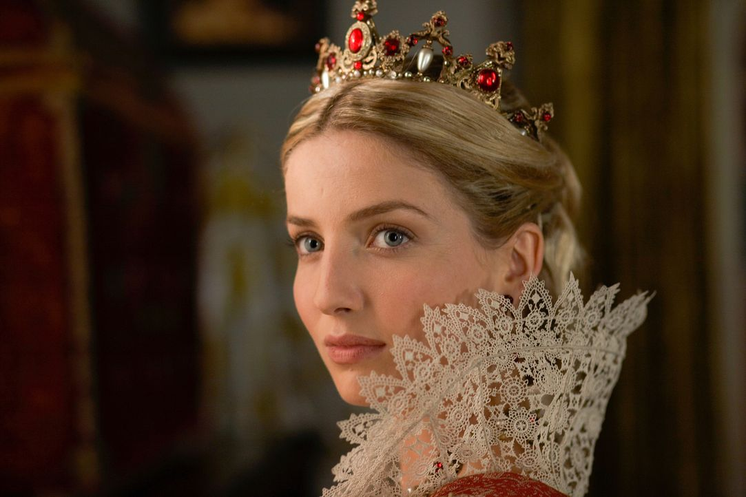 Henry's dritte Frau Jane Seymour (Annabelle Wallis) ist zum Äußersten entschlossen ihm einen Sohn zu schenken ... - Bildquelle: 2009 TM Productions Limited/PA Tudors Inc. An Ireland-Canada Co-Production. All Rights Reserved.