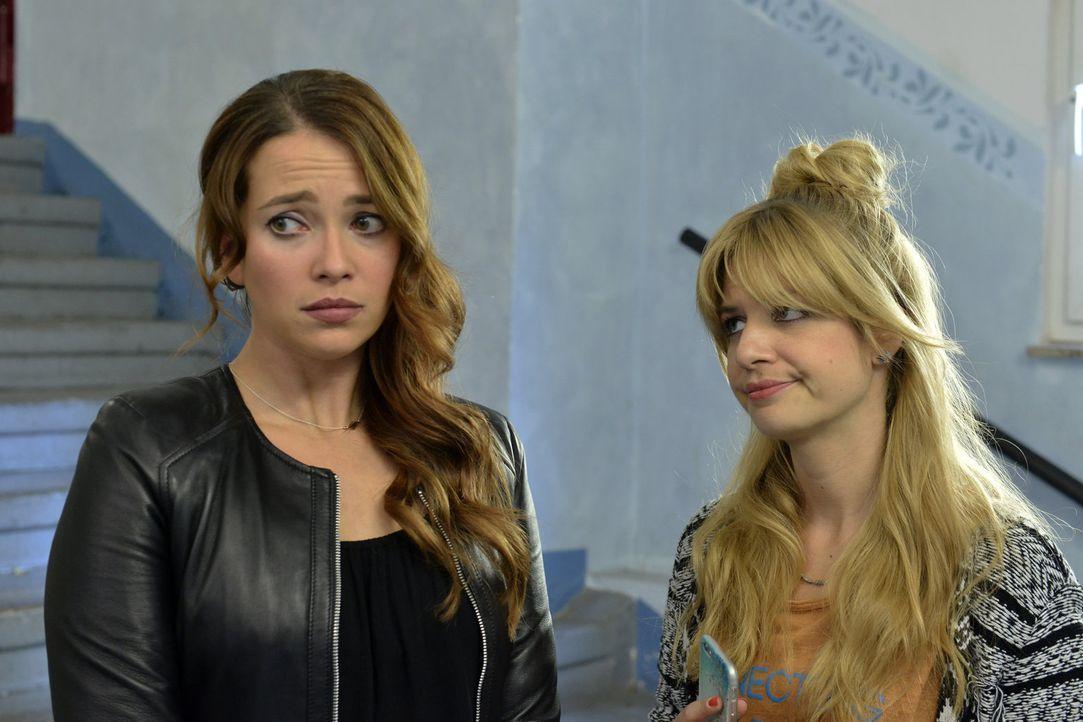 Richard will Sally (Laura Osswald, l.) nicht aus dem Kopf gehen. Kann Mila (Susan Sideropoulos, l.) sie dazu überreden, ihrer Liebe ein Chance zu ge... - Bildquelle: Oliver Ziebe sixx