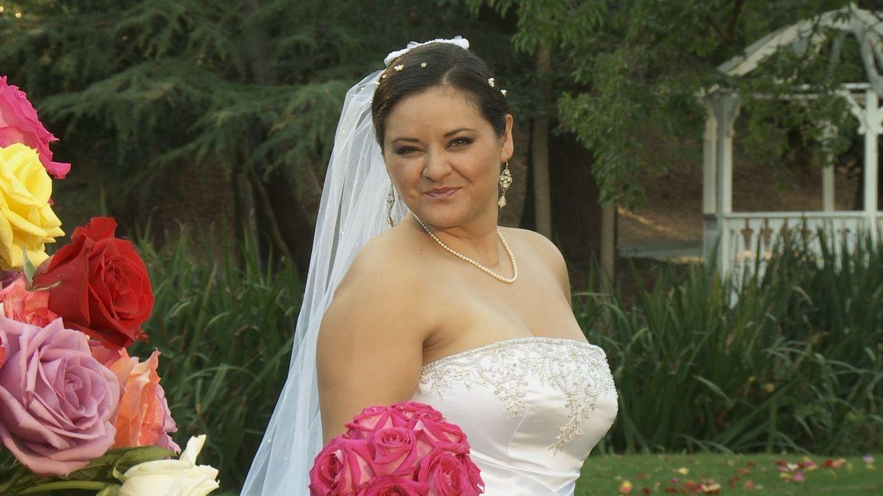 Christine glaubt, dass ihre Hochzeit einfach perfekt wird ... - Bildquelle: Richard Vagg DCL