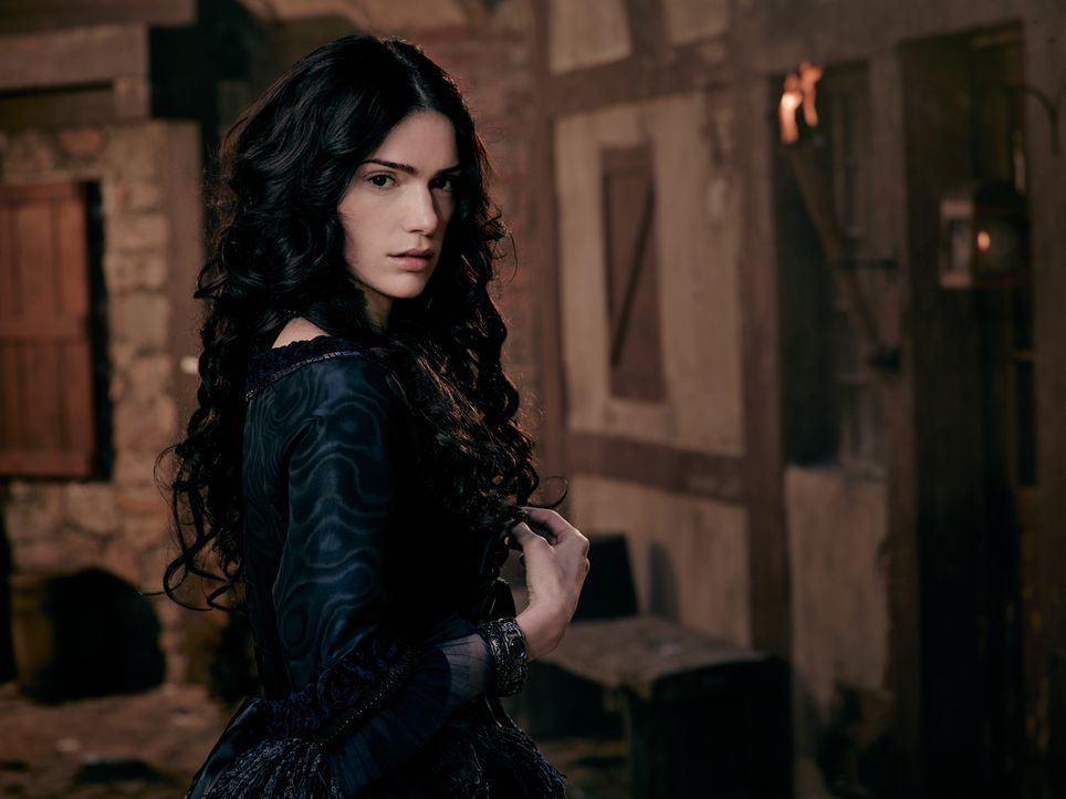 (1. Staffel) - Mary Sibley (Janet Montgomery) weiß ganz genau, wie sie ihre Machtposition in Salem ausbaut, doch mit einem Widersacher hat sie nicht... - Bildquelle: 2013-2014 Fox and its related entities.  All rights reserved.