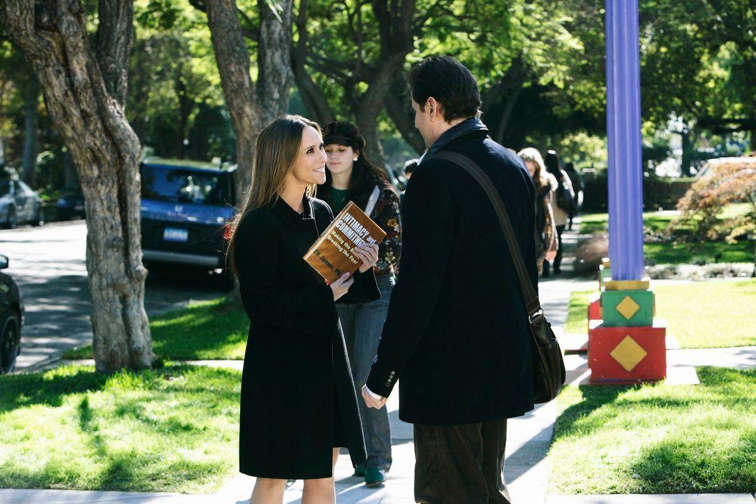 Nachdem sie mit Sam nicht über ihre außergewöhnliche Fähigkeit sprechen kann, ist Melinda (Jennifer Love Hewitt, l.) froh, mit Eli (Jamie Kennedy, r... - Bildquelle: ABC Studios