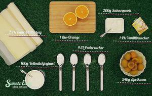 Zutaten Blätterteig-Ostereier