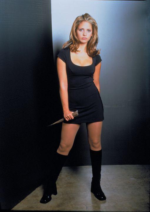 (1.Staffel) - Buffy (Sarah Michelle Gellar) ist die Auserwählte: Sie allein muss sich den Vampiren, Dämonen und den Mächten der Finsternis stellen .... - Bildquelle: (1997) Twentieth Century Fox Film Corporation.