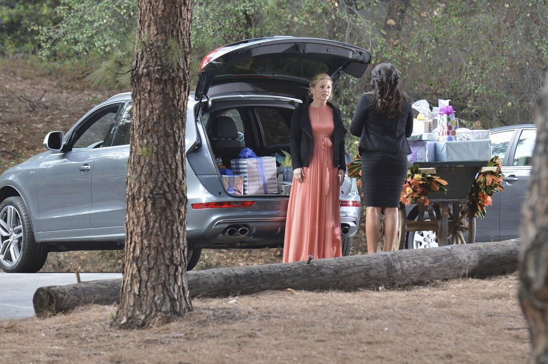 Hat ihre Ehe noch eine Chance? Arizona (Jessica Capshaw, l.) und Callie (Sara Ramirez, r.) ... - Bildquelle: ABC Studios