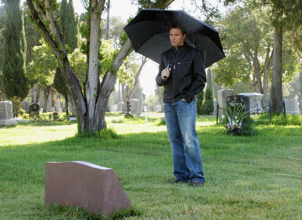 Violet rät Pete (Tim Daly) am Todestag seiner Frau deren Grab zu besuchen, um sie endlich loslassen zu können ... - Bildquelle: 2007 American Broadcasting Companies, Inc. All rights reserved.