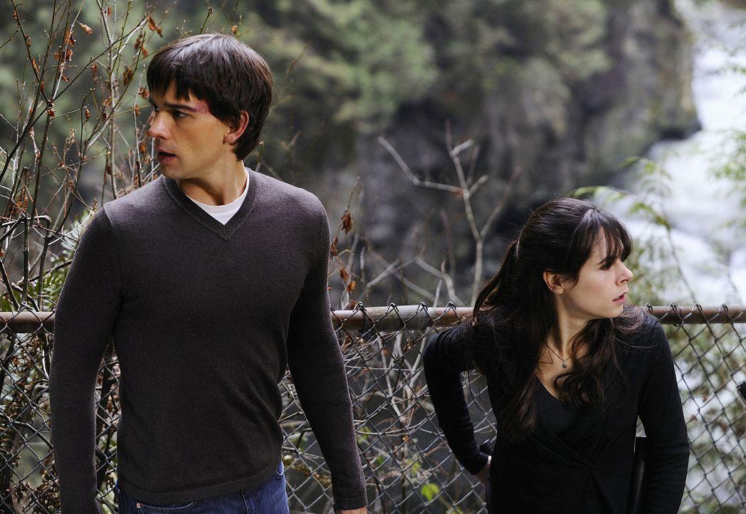 Nachdem Abby (Elaine Cassidy, r.) endgültig weiß, dass Wakefield noch am Leben ist, bricht Panik aus. Gemeinsam mit Henry (Christopher Gorham, l.)... - Bildquelle: 2009 CBS Studios Inc. All Rights Reserved.
