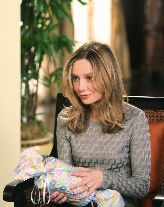Traumjob: Kitty (Calista Flockhart) bekommt ein Jobangebot von der Wexley Universität, aber auch ein Baby ... - Bildquelle: 2008 ABC INC.