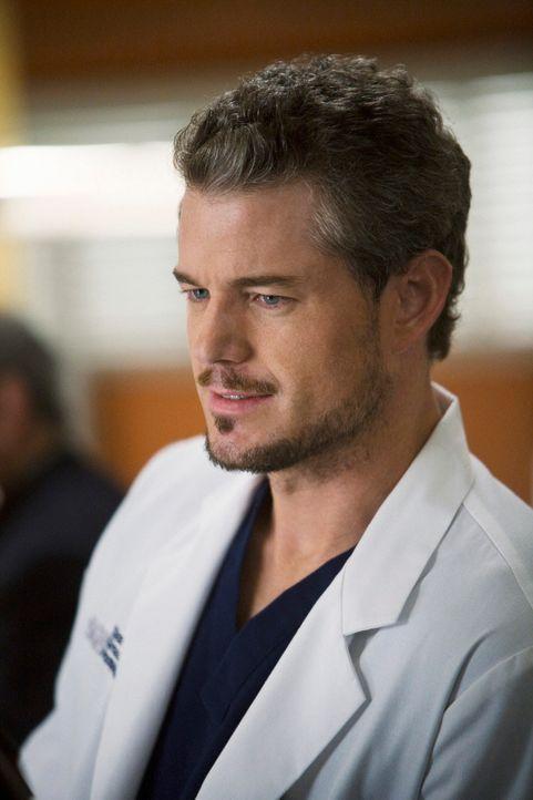 Ist nervös, als er erfährt, dass Dereks Mutter Carolyn zu Besuch ins Krankenhaus kommt: Mark (Eric Dane) ... - Bildquelle: Touchstone Television