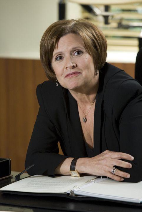 Celias Anwältin Arlene (Carrie Fisher) rät ihr dringend, für das Sorgerecht ihrer Tochter zu kämpfen ... - Bildquelle: Lions Gate Television