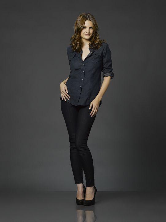 (3. Staffel) - Wird sie jemals zugeben, dass sie eine Schwäche für den Kriminalautor Richard Castle hat? Kate Beckett (Stana Katic) - Bildquelle: ABC Studios
