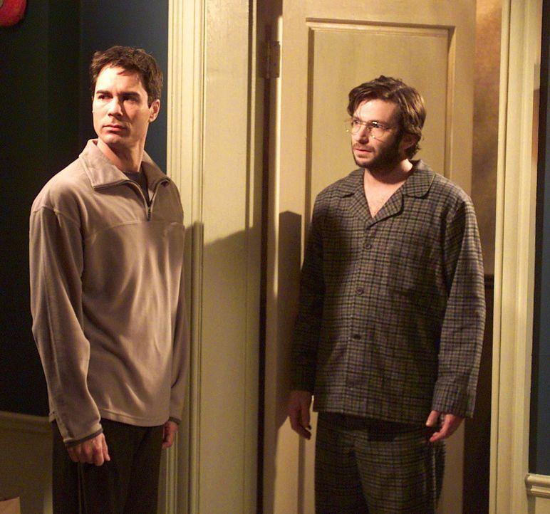Will (Eric McCormack, l.) ist ziemlich geschockt, als er sein Blind Date erblickt ... - Bildquelle: NBC Productions