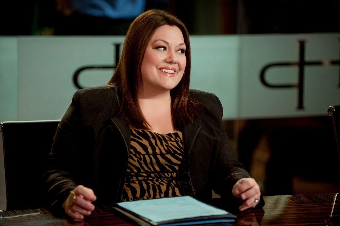 Jane (Brooke Elliott) macht sich furchtbare Sorgen um Owen, der ihrer Meinung nach jede Sekunde einen weiteren Herzstillstand erleiden könnte. - Bildquelle: 2012 Sony Pictures Television Inc. All Rights Reserved.