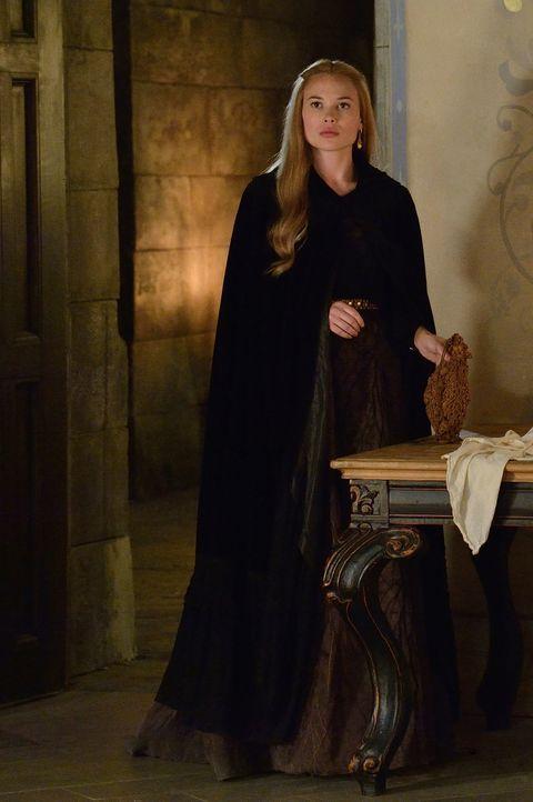 Greer (Celina Sinden) ist hin und hergerissen zwischen ihren Gefühlen für Leith und ihrer Pflicht ihrer Familie gegenüber ... - Bildquelle: Ben Mark Holzberg 2014 The CW Network, LLC. All rights reserved.
