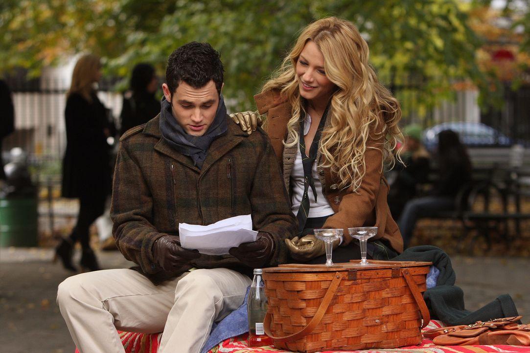 Dan (Penn Badgley, l.) gesteht Serena (Blake Lively, r.) seine Liebe. Doch wie wird sie darauf reagieren? - Bildquelle: Warner Brothers