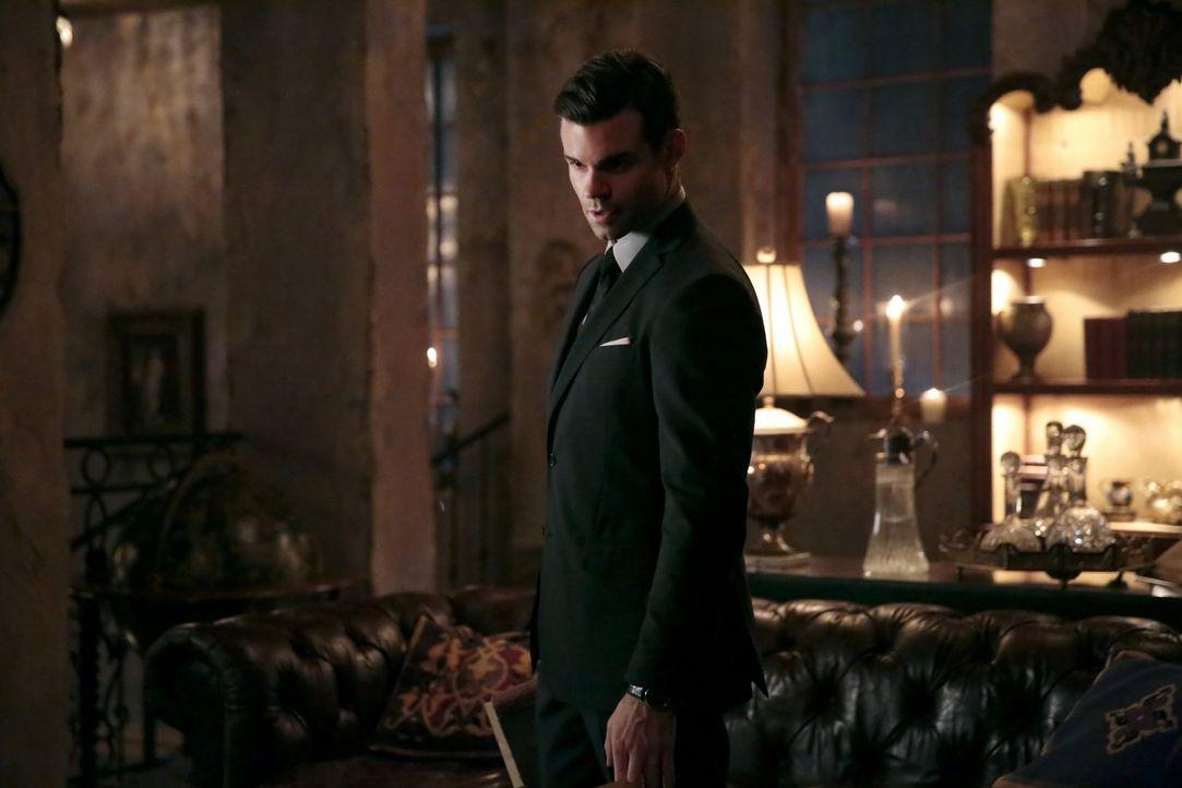 Als Elijah (Daniel Gillies) erfährt, dass es noch eine Waffe gibt, die ihn und seine ganze Familie töten könnte, lässt er eine Hexe seine Erinnerung... - Bildquelle: Warner Bros. Entertainment, Inc.