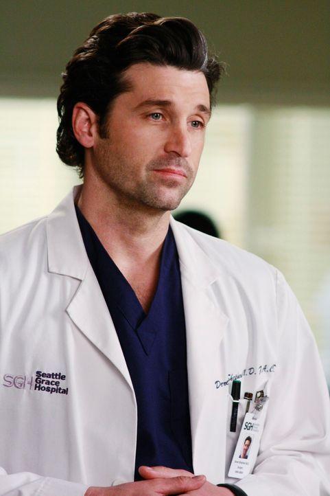 Addisons Bruder, Archer, wird ins Seattle Grace eingeliefert, da er Parasiten im Gehirn hat. Noch wissen Derek (Patrick Dempsey) und sein Kollegen n... - Bildquelle: Touchstone Television