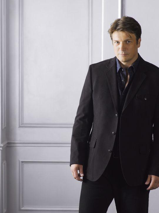 (4. Staffel) - Will auch weiterhin das Team von Kate unterstützen: Richard Castle (Nathan Fillion) - Bildquelle: ABC Studios