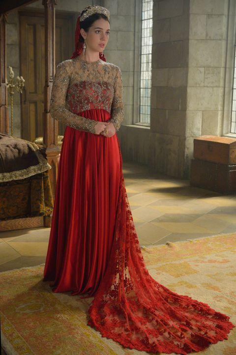 Mary (Adelaide Kane) hadert mit dem, wie sie Dan Carlos für ihre Zwecke nutzt, nicht ahnend, wie viel der spanische Prinz wirklich von ihrem Spielch... - Bildquelle: Ben Mark Holzberg 2015 The CW Network, LLC. All rights reserved.