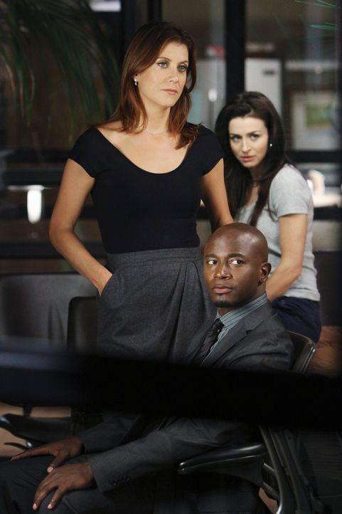 Werden sie sich für oder gegen Betsy entscheiden? Sam (Taye Diggs, M.), Addison (Kate Walsh, l.) und Amelia (Caterina Scorsone, r.) ... - Bildquelle: ABC Studios