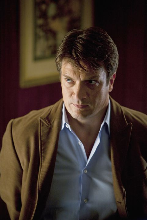 Richard Castle (Nathan Fillion) gerät in eine äußerst gefährliche Situation ... - Bildquelle: 2010 American Broadcasting Companies, Inc. All rights reserved.