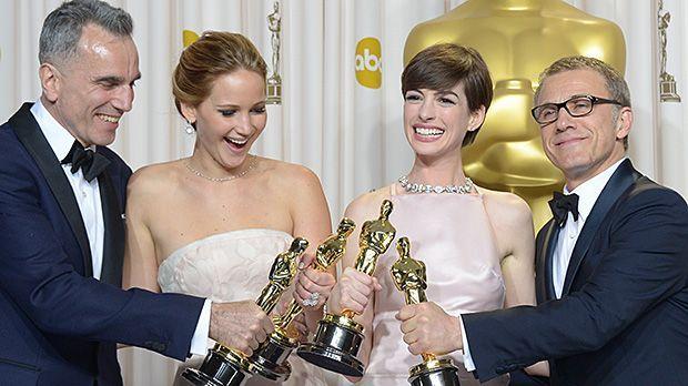 Oscar Verleihung 2013: Die Gewinner und Highlights - Bildquelle: AFP