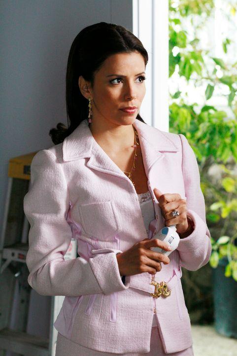 Gabrielle (Eva Longoria) wird skeptisch, weil Carlos plötzlich keinen Sex mehr mit ihr will und Xiao-Mei eine seltsame Reaktion zeigt ... - Bildquelle: 2005 Touchstone Television  All Rights Reserved