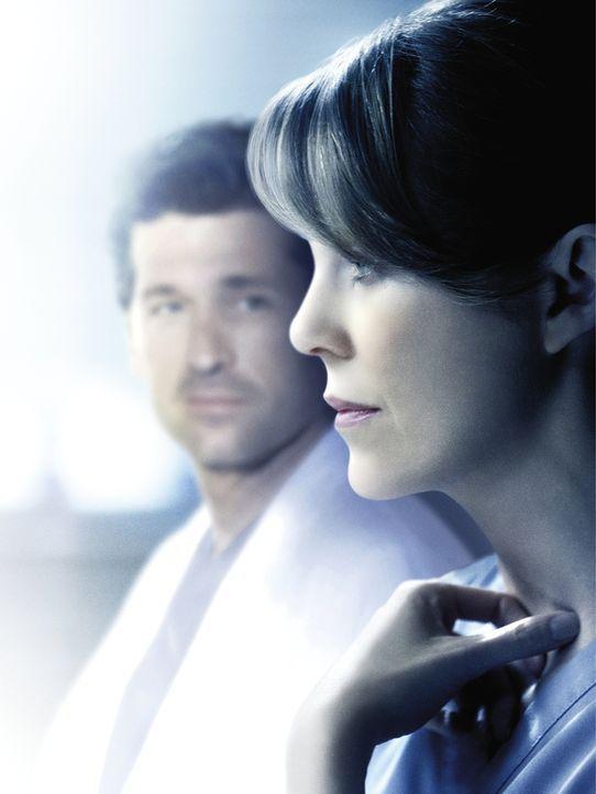 (11. Staffel) - Neues aus dem Seattle Grace Hospital: Meredith (Ellen Pompeo, r.) und Derek (Patrick Dempsey, l.) ... - Bildquelle: ABC Studios