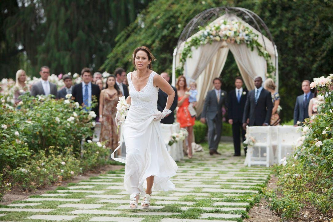 Pete und Violet (Amy Brenneman) wollen heiraten und obwohl die beiden glücklich sind, endlich zueinander gefunden zu haben, scheint alles doch etwa... - Bildquelle: ABC Studios