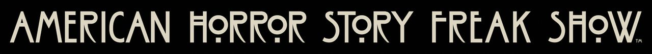 (4. Staffel) - Amerikan Horror Story: Freak Show - Logo - Bildquelle: 2014-2015 Fox and its related entities. All rights reserved.