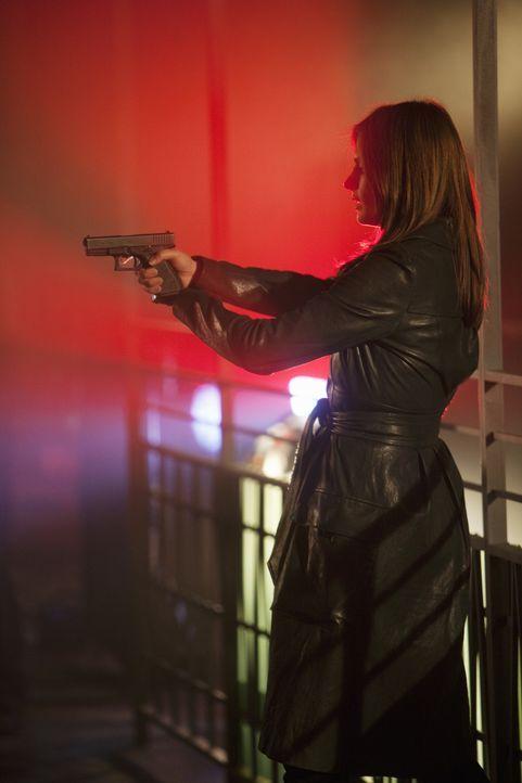 Kann Kate Beckett (Stana Katic) den wahren Mörder noch rechtzeitig stoppen? - Bildquelle: 2010 American Broadcasting Companies, Inc. All rights reserved.