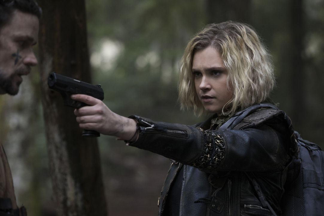 Clarke (Eliza Taylor) - Bildquelle: Jack Rowand 2018 The CW Network, LLC. All Rights Reserved./Jack Rowand