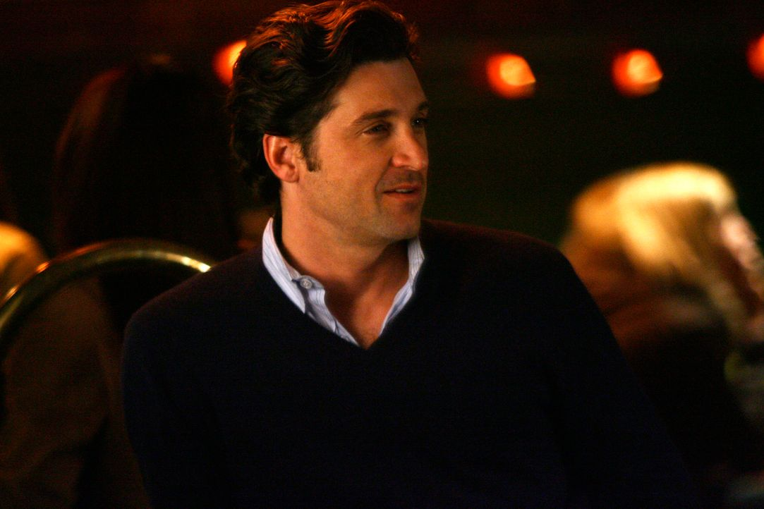 Fühlt sich geschmeichelt von Lexie: Derek (Patrick Dempsey) ... - Bildquelle: Touchstone Television