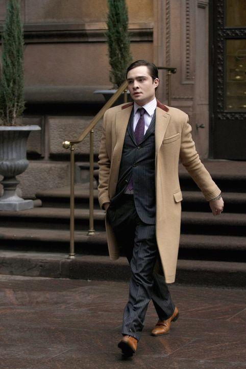Muss sich im Kampf um Blair erstmal geschlagen geben: Chuck (Ed Westwick) ... - Bildquelle: Warner Brothers