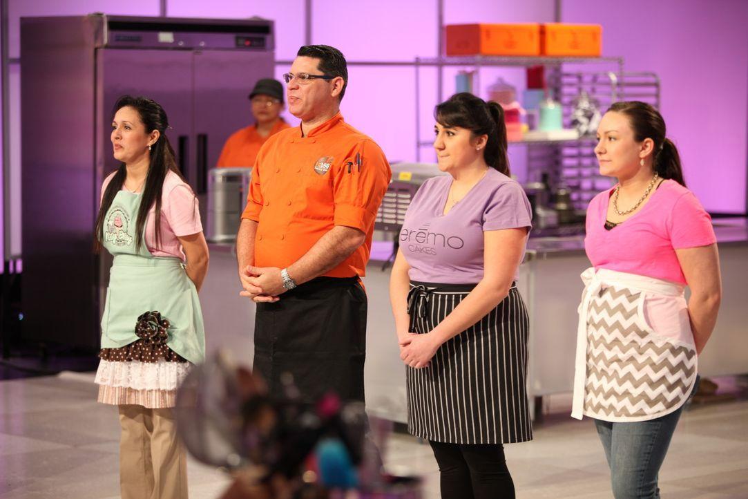 Diese Torten werden ausdrucksstark! Vier Backtalente kreieren unter dem Mott... - Bildquelle: 2017,Television Food Network, G.P. All Rights Reserved