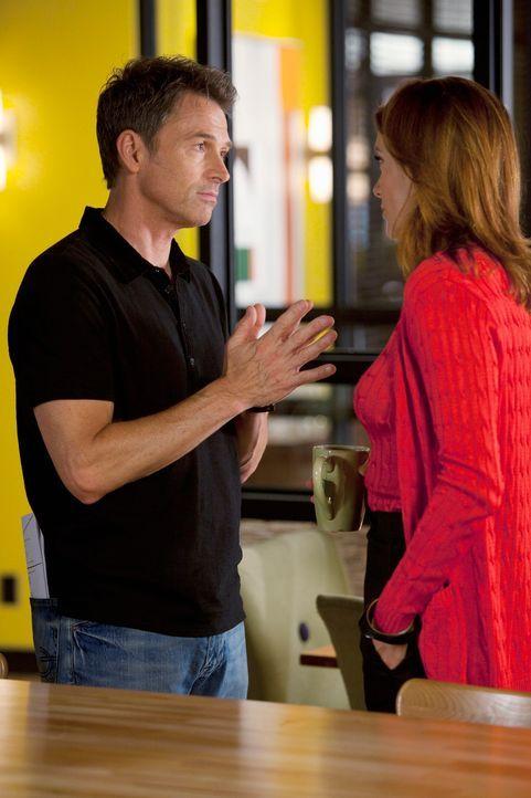 Während sich Pete (Tim Daly, l.) und Violet das Ja-Wort geben wollen, hat Addison (Kate Walsh, r.) ganz andere Probleme ... - Bildquelle: ABC Studios
