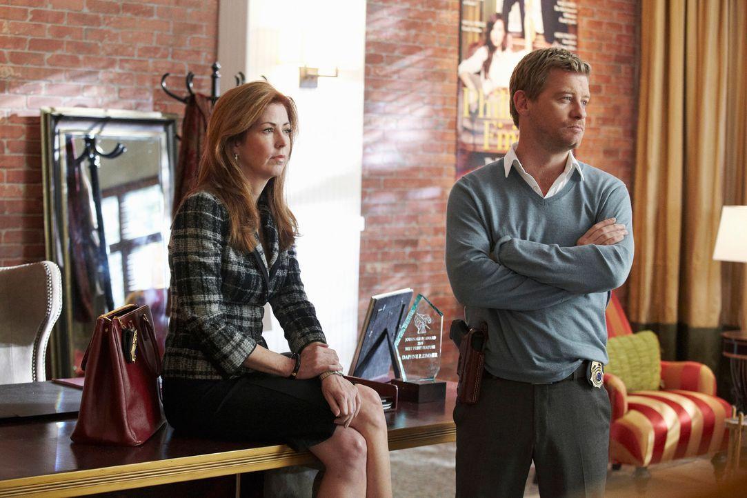 Ein neuer Fall wartet auf Megan (Dana Delany, l.) und Peter (Nicholas Bishop, r.) ... - Bildquelle: ABC Studios