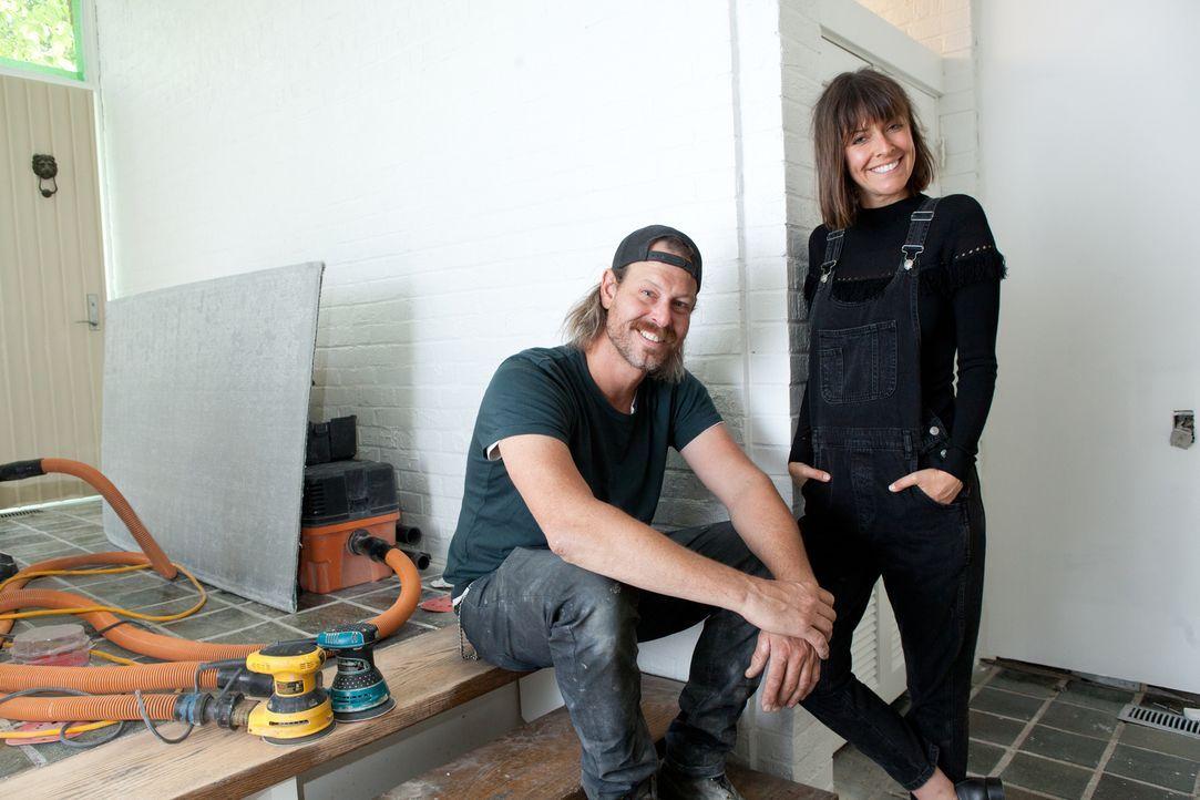 Die Geschwister Steve (l.) und Leanne Ford (r.) kreieren heute einen ganz besonderen Wohnraum ... - Bildquelle: 2017, Scripps Networks, LLC. All Rights Reserved.