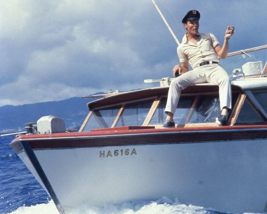 Hat sein Herz an das Meer verloren: Fischerjunge Ross Carpenter (Elvis Presley) ... - Bildquelle: TM & Copyright   2002 by Paramount Pictures. All Rights Reserved.