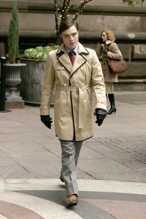 Tritt ein schweres Erbe an, ohne zu ahnen, dass sein Onkel ihn in eine Falle laufen lässt: Chuck (Ed Westwick) ... - Bildquelle: Warner Brothers