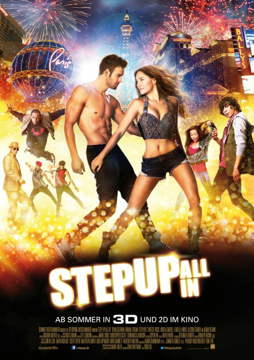 STEP UP: ALL IN - Plakatmotiv - Bildquelle: 2014 Constantin Film Verleih GmbH.