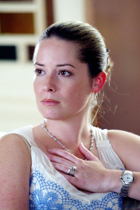 Piper (Holly Marie Combs) ist besorgt, da Titanen Kronos, Meta und Demetrius sich am Ältestenrat rächen wollen ... - Bildquelle: Paramount Pictures
