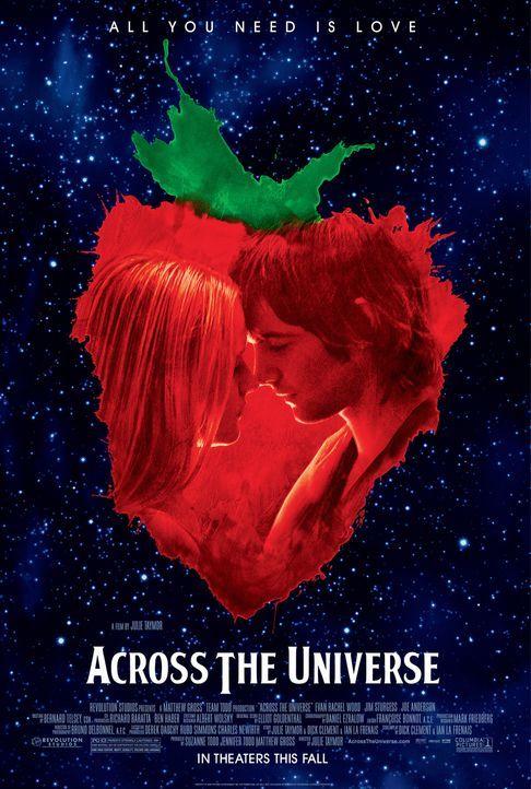 """ACROSS THE UNIVERSE"" - Plakatmotiv - Bildquelle: 2007 Revolution Studios Distribution Company, LLC. All Rights Reserved."