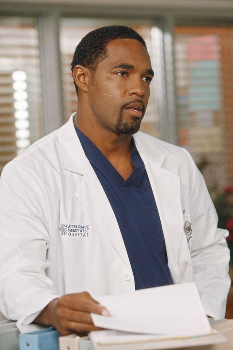 Wird Ben (Jason George) die Beziehung von Bailey und Eli ins wanken bringen? - Bildquelle: ABC Studios