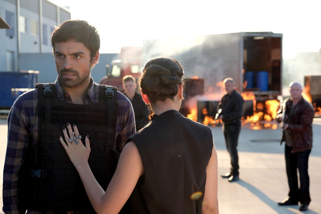 Marcos (Sean Teale, l.); Carmen (Michelle Veintimilla, r.) - Bildquelle: Eliza Morse 2017 Fox and its related entities.  All rights reserved.  MARVEL TM &   2017 MARVEL/Eliza Morse