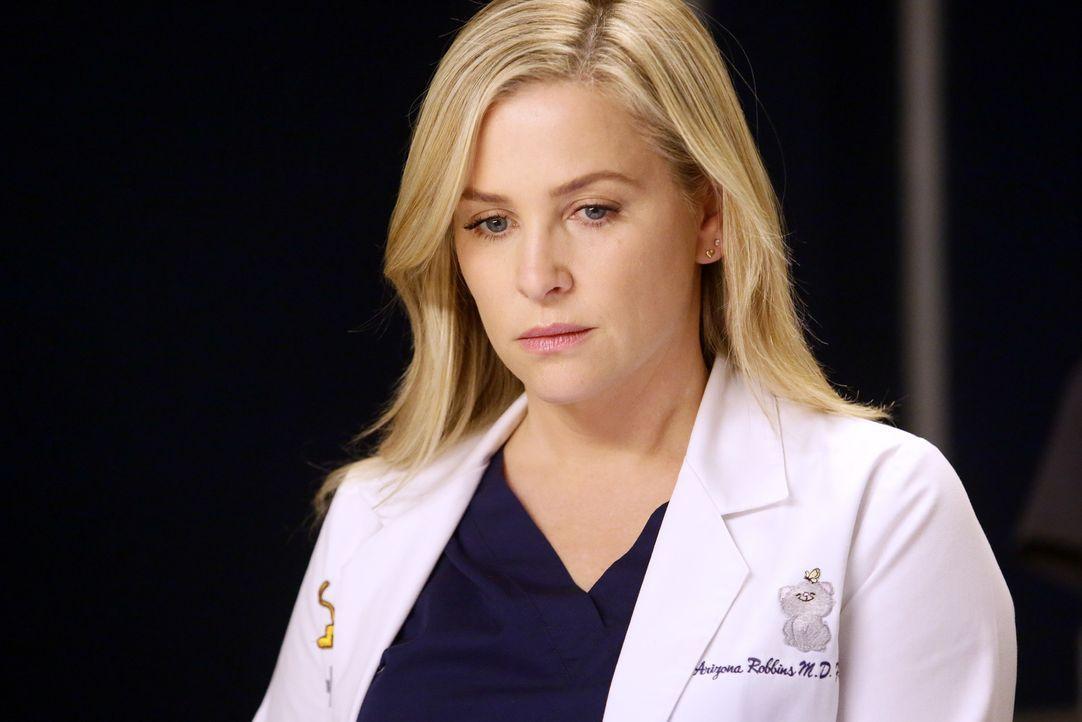 Während Eliza Minnicks ihren ersten Arbeitstag hat, vermisst Arizona (Jessica Capshaw) Alex im Krankenhaus ... - Bildquelle: Nicole Wilder 2016 American Broadcasting Companies, Inc. All rights reserved.