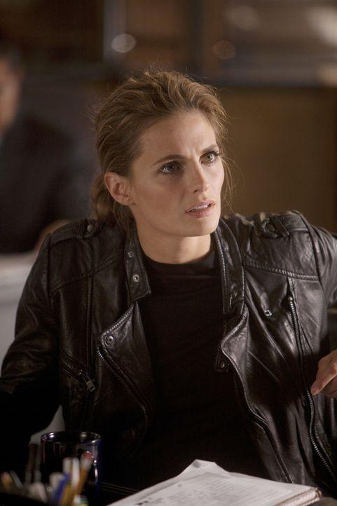 Beckett (Stana Katic) muss sich eingestehen, dass sie die Erlebnisse der Vergangenheit noch nicht verarbeitet hat ... - Bildquelle: 2011 American Broadcasting Companies, Inc. All rights reserved.